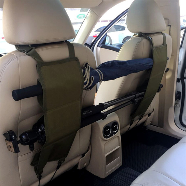 1 Pair Car Truck Rifle Holster Back Seat Protection Gun