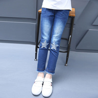 Spring Autumn Girl Jeans Casual Denim Pants For Girls 6 8 10 12 14 Jeans Kids
