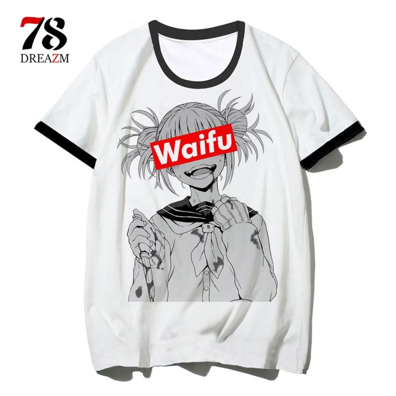 Boku No Hero Academia My Hero Academia Anime 2019 T Shirt Top Tee Shirt Tshirt T-shirt Men Male/women Cosplay Funny Hip Hop