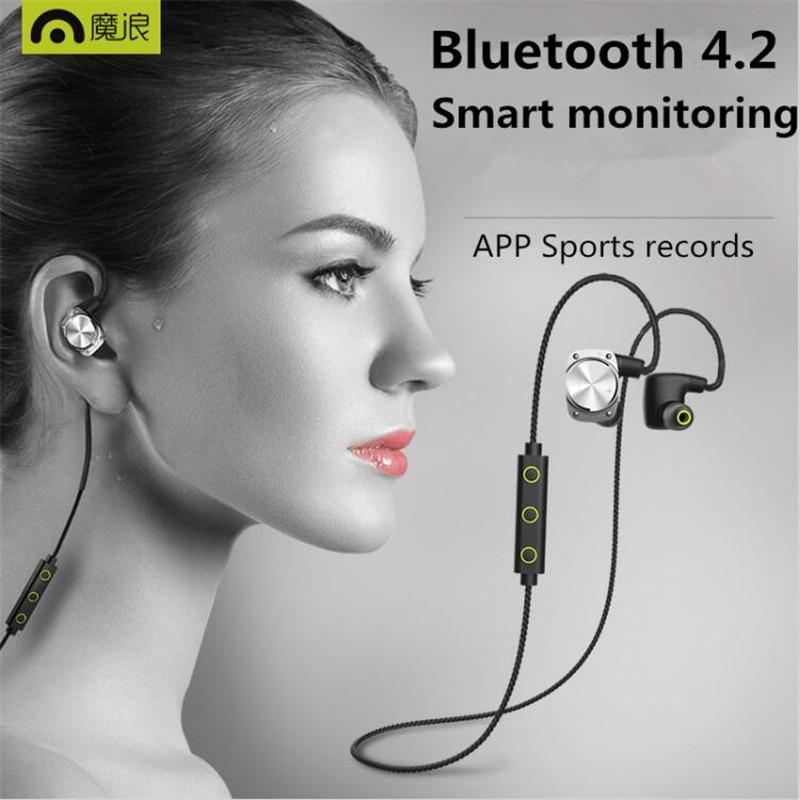 bilder für Heißer Mifo U6 Drahtlose Ohrhörer Sport Bluetooth 4,2 Headset Ohrhörer Wasserdichte Sport Kopfhörer Für Iphone Kopfhörer Mit Mic