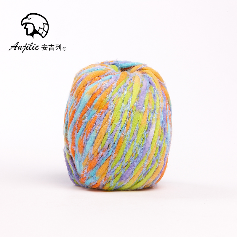 50g/Ball Acrylic wool Nylon Anti-Pilling Thick Yarn For Hand Knitting Crocheting Sweater ...