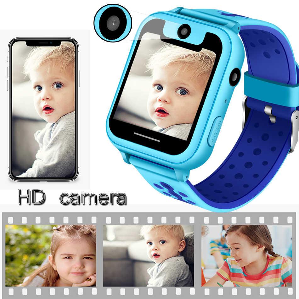 ליגע ילד חכם שעון בני בנות תינוק שעון LBS גשש עמדת טלפון תשובה ילדי שעון תמיכה עבור אנדרואיד ios טלפונים + תיבה