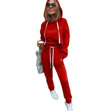 Women Two Piece Sweatsuit Outfits