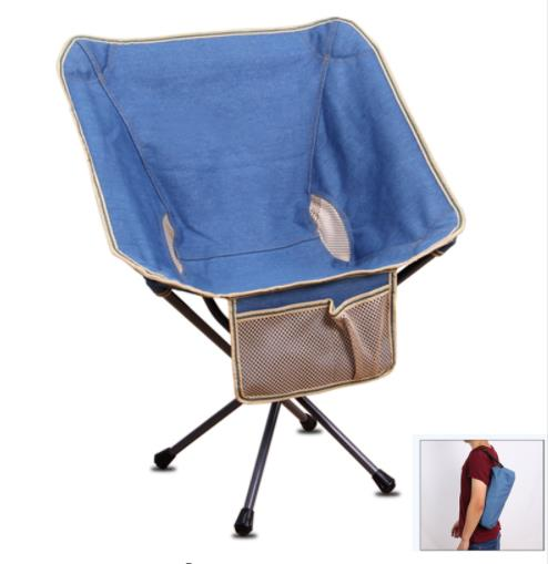 Furniture Outdoor Storage Portable Folding Chair Mini Backrest Fishing Moon Chair Director Sketch Backpack Folding Chair