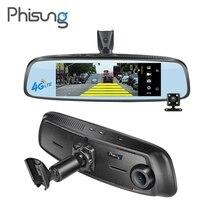 Phisung 7.84″ Full HD 1080P WiFi Car DVR Bluetooth 4G Android GPS Navigator Dash Cam Rear View Mirror Video Recorder Registrator