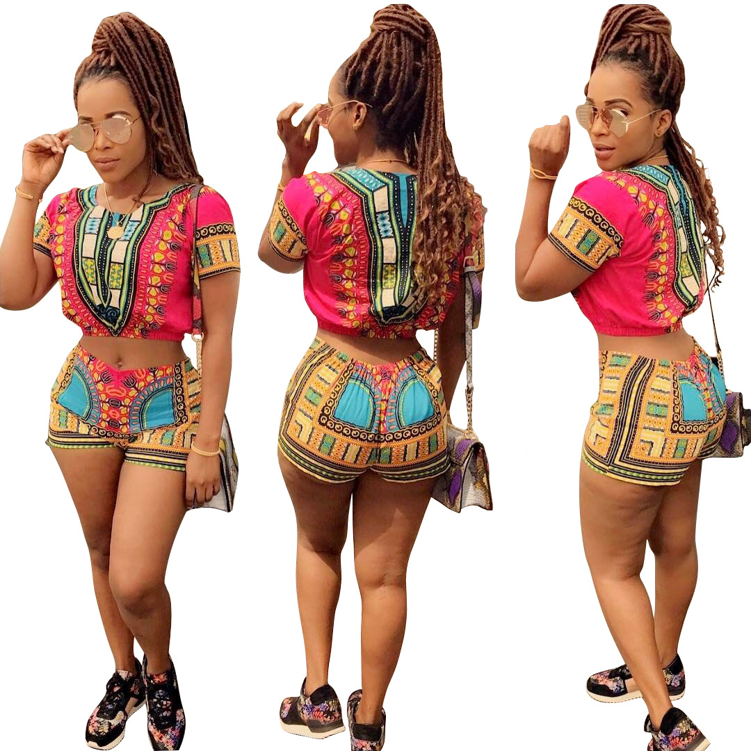 New Top Fashion Arrival Sale Polyester Women Robe Africaine 2018 Casual Short Sleeved Jacket ...
