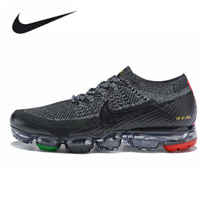 1927ed9c4e Nike Air VaporMax 2.0 Sneakers Running Shoes Outdoor Black Red for Men  2018-4 40