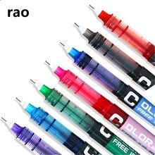 Высококачественная гелевая ручка большой емкости, 7 цветов, студент, школа, офис, Канцтовары, шариковая ручка