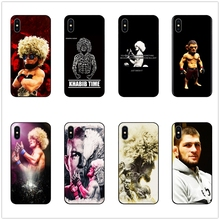 DK Khabib Nurmagomedov UFC New phone case black cover for Samsung s8 s9plus S6 S7Edge S5 for iPhone 6 6s 7 8plus 5 X XS XR XSMax