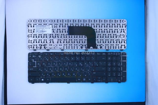 New RUSSIA black laptop keyboard for HP DV6-7000 HP pavilion dv6-7025tx dv6-7026tx  dv6-7100RU Black WITH Frame laptop keyboard