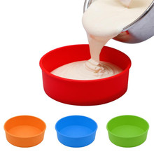 Get more info on the Big 26CM Round Silicone Cake Mold Oven Baking Pizza Mould DIY kitchen circle shape cakes pancake maker holder drop ship