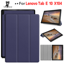 PU Leather Stand Case for Lenovo Tab E10 Tablet Cover for Ta