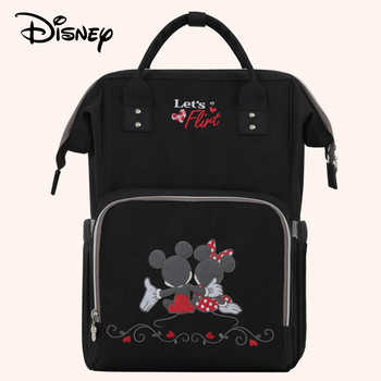 Disney Baby diaper bag Maternity Nappy usb Heating stroller bags baby care Mummy backpack Insulation bag Mickey mochila bolsa - DISCOUNT ITEM  0% OFF All Category