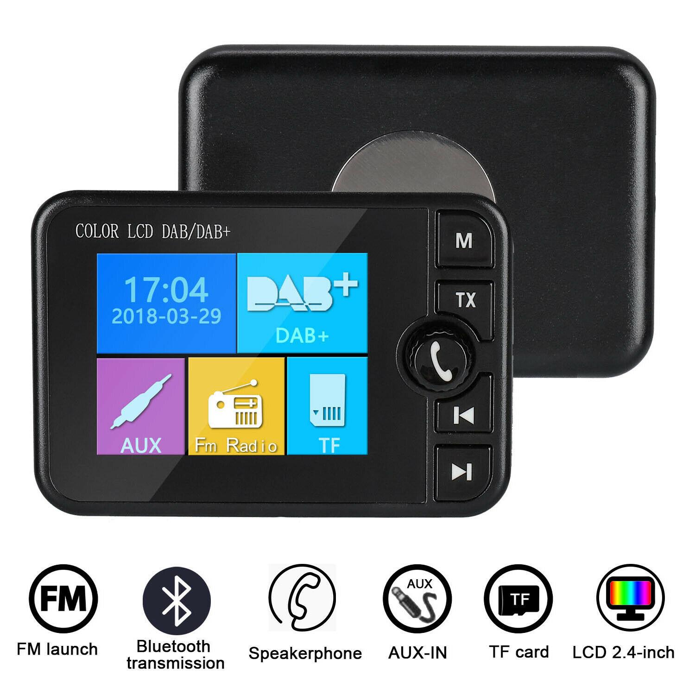 Récepteur Radio DAB écran colorisé prise en charge de la musique Bluetooth réponse d'appel pour voiture EM88