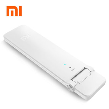 Original Xiao mi mi WIFI répéteur 2 amplificateur Extender 2 Boosters de Signal WiFi sans fil routeur universel Xiao mi jia Smart