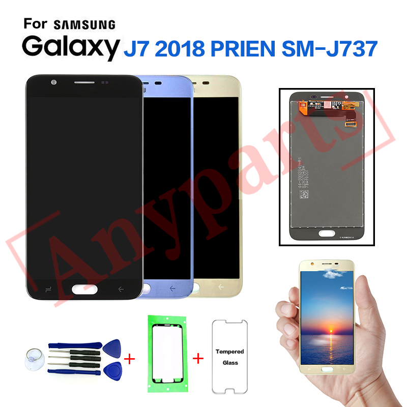 For <font><b>SAMSUNG</b></font> <font><b>Galaxy</b></font> <font><b>J7</b></font> <font><b>2018</b></font> SM-J737V <font><b>Display</b></font> LCD Screen Replacement for <font><b>samsung</b></font> <font><b>J7</b></font> Refine <font><b>2018</b></font> SM-J737P J737A lcd dispaly screen image