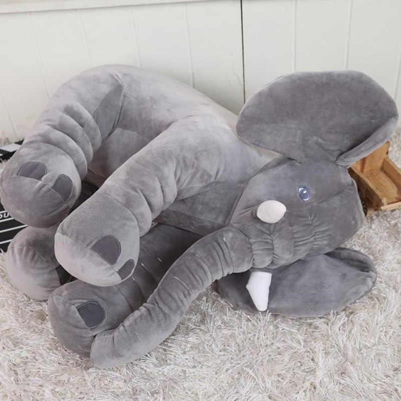 60 см/24 ''каваи детеныш животного, Слоненок стиль куклы Мягкие плюшевые игрушки слон плюшевая подушка для кровати мягкие подарки для детей 01