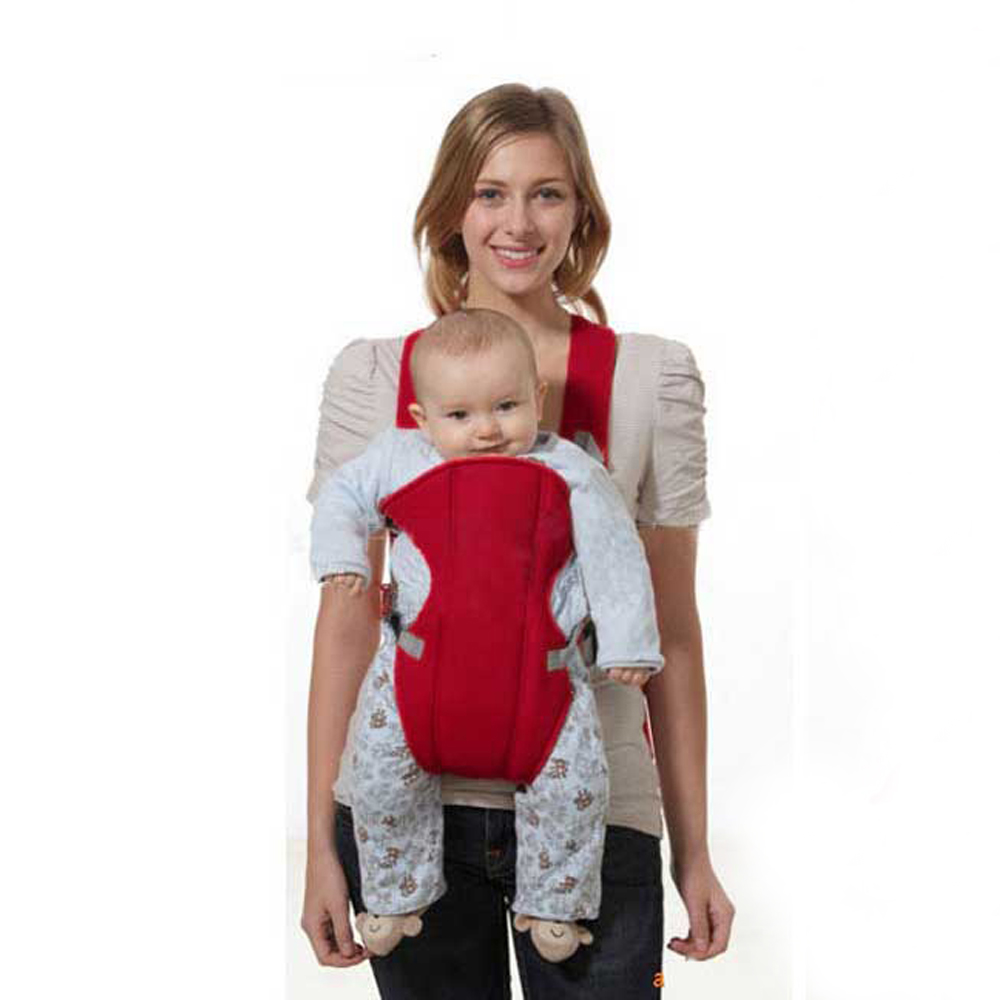 fbba65d092e 2018 Red Front Facing Baby Carrier Sling Newbrons Pouch Wrap Kangaroo for  Baby C