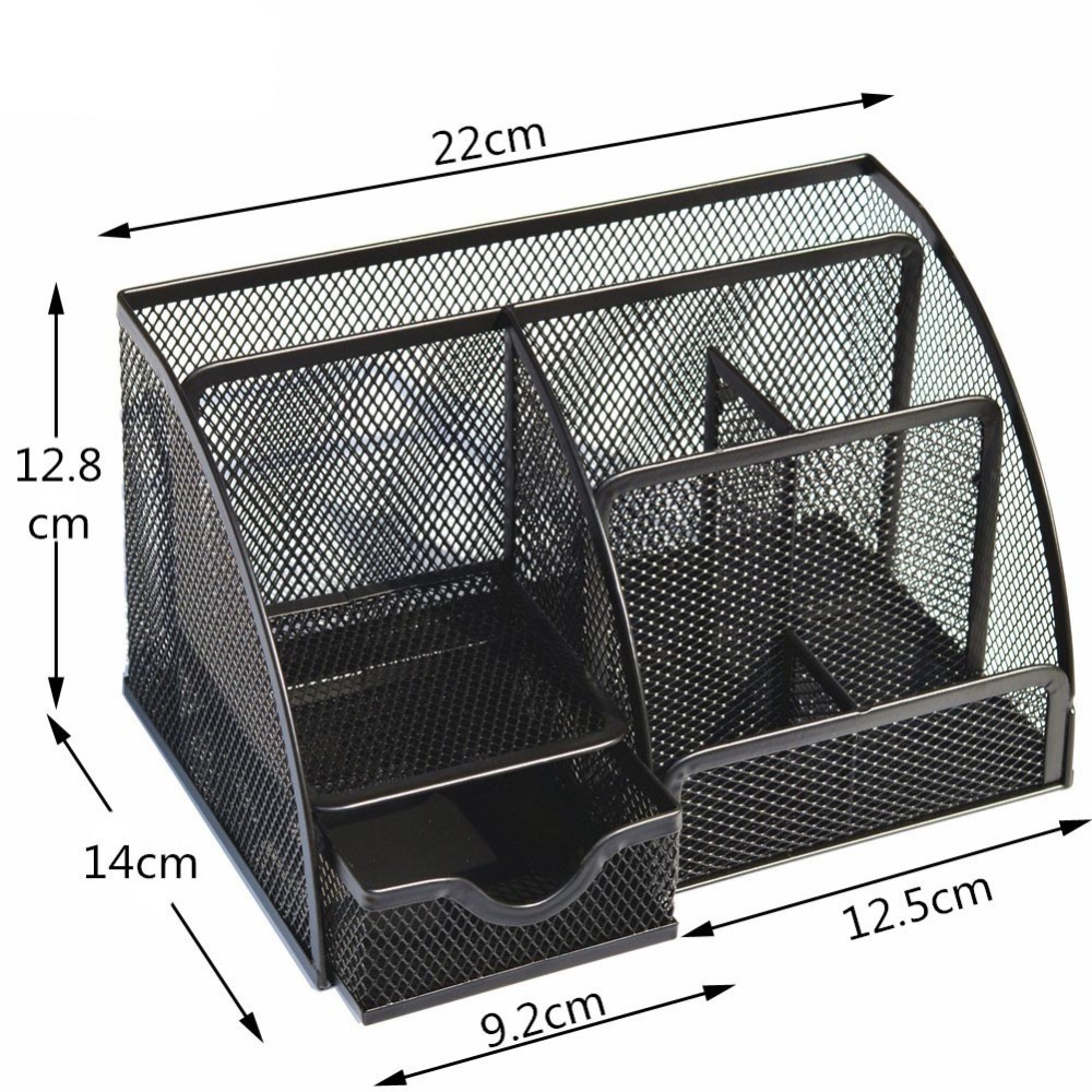 Desk Organizer Office Stationery Container 2
