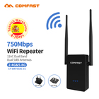 Wireless-N Wifi Repeater Long Range Wifi Router 750Mbps Dual Band Router Wi-fi 5 Ghz+2.4G Comfast Wi fi Range Extender Amplifier
