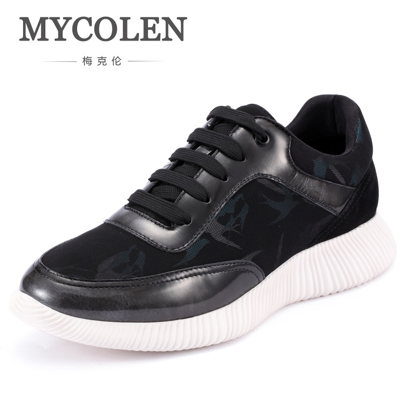 MYCOLEN Hot Sale Fashion Casual Men Shoes Breathable Lace Up Brand Shoes 2018 Spring Summer Comfortable Breathable Shoes micro micro 2017 men casual shoes comfortable spring fashion breathable white shoes swallow pattern microfiber shoe yj a081