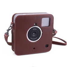 Comprehensive Protection for Polaroid Socialmatic Instant Digital Camera Case Bag With Soft PU Leather