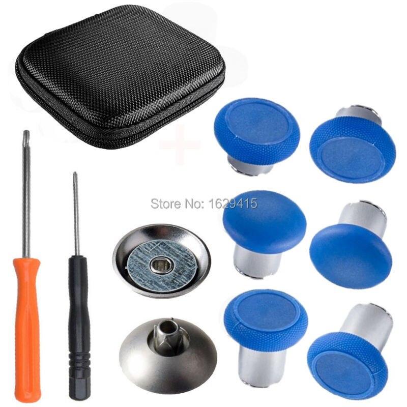 IVYUEEN Voor Microsoft XBox One X S Elite Controller Metalen Magnetische Duimknoppen Swap Sticks Reparatie Onderdelen Knoppen Mod Kit