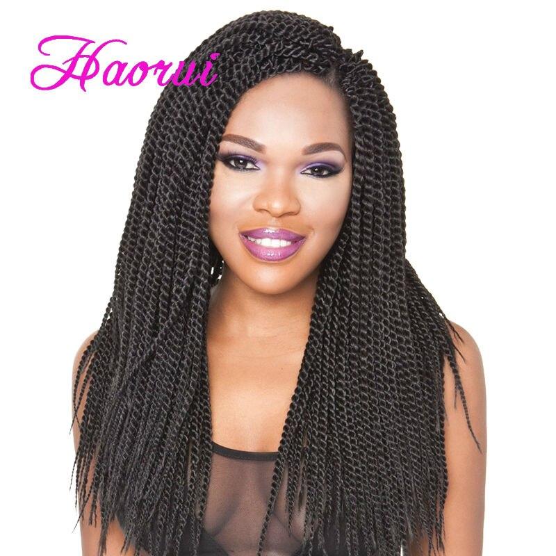 Hot Ing Havana Mambo Twist Braids In Synthetic Bulk Hair Single Color Senegalse Crochet Braiding 14 24 Roots On Aliexpress Alibaba