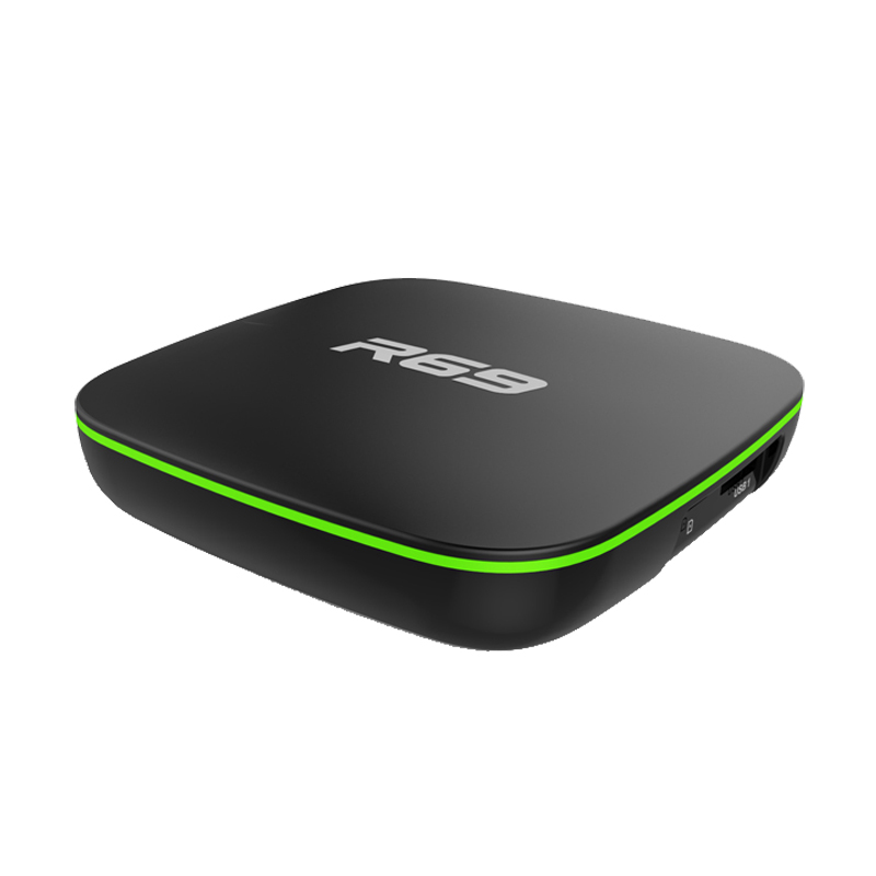 Factory price R69 4K Android TV Box 2GB 16GB with 1 Year IPTV Subscription M3U 5000 Channels 10000VOD 1080P Full HD Euro America in Set top Boxes from Consumer Electronics