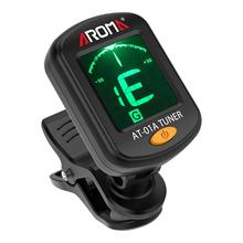 цена на Guitar Tuner Clip-on Guitrra Tuner LCD Display Universal Tuner for Chromatic Guitar Bass Ukulele Violin Instrument Accessories
