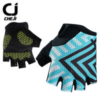 New Arrival Cheji Brand Cycling Glooves Men Pro Cycle Half Finger Glooves Breathable Bike Glooves Man