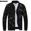 Mountainskin 2017 nova primavera dos homens casuais jaquetas slim gola jaquetas masculinas impressão masculino casacos moda marca clothing sa187