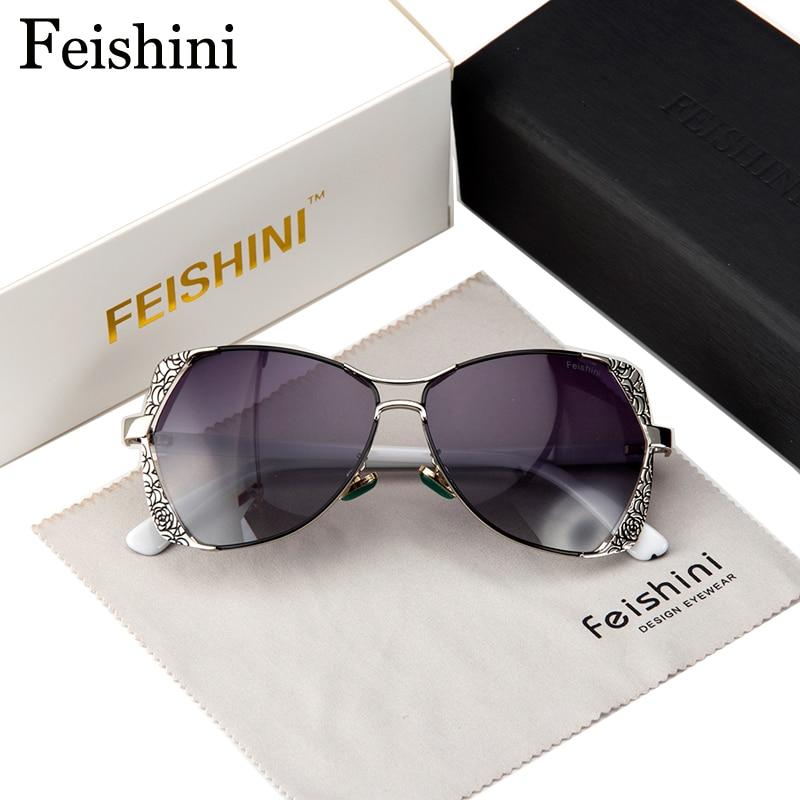 FEISHINI Marke Designer Fashion Eyewear Gradient Vintage Sonnenbrille - Bekleidungszubehör - Foto 2