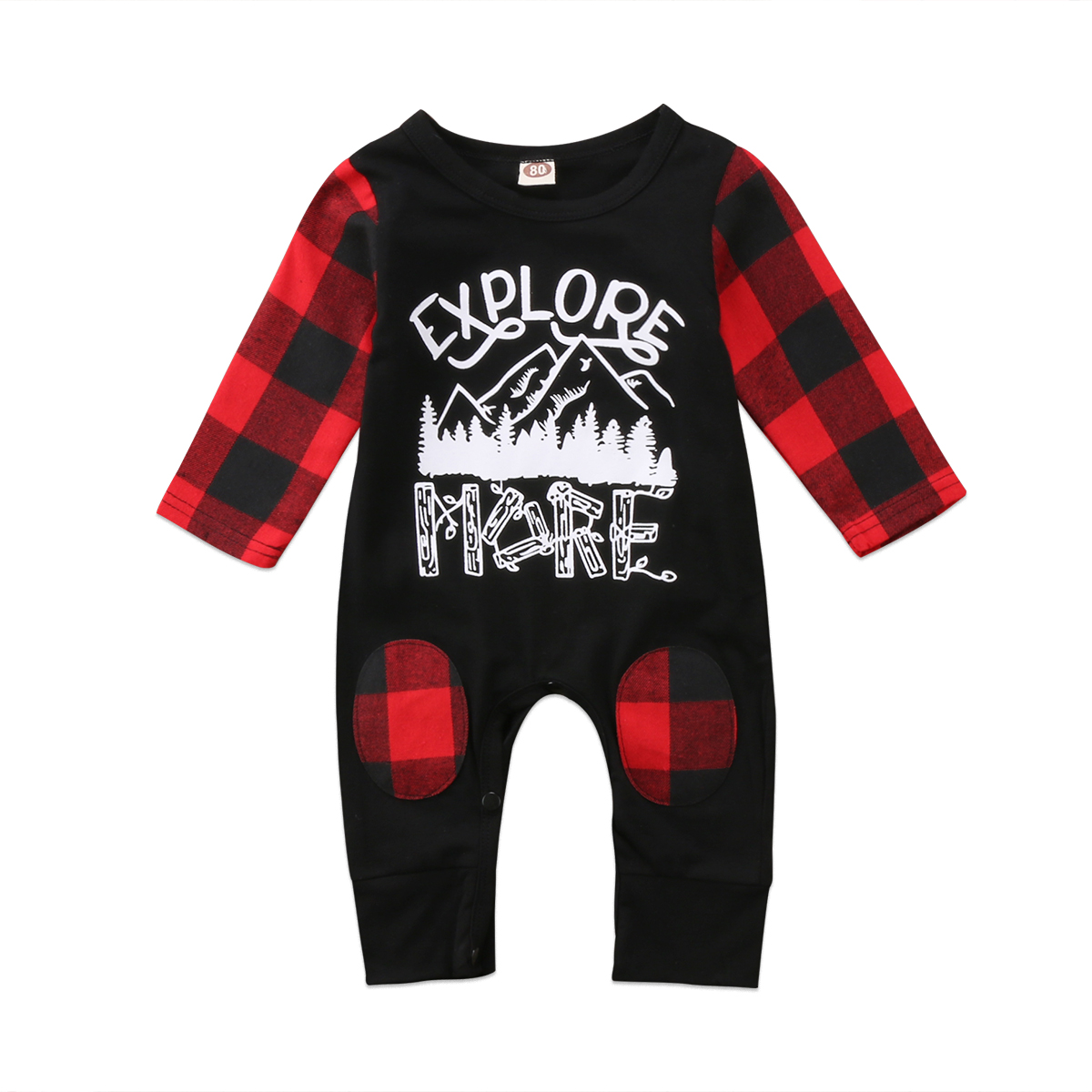 7be81c86820 Xmas Toddler Baby Boys Girls Romper Jumpsuit Onepiece Clothes Outfit  pudcoco Newborn Infant Baby xmas Girl boy romper