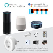 UK US EU WiFi Smart Socket Power Plug Outlet Remote Control Energy Monitor Works with Amazon Alexa Google Home No Hub Required