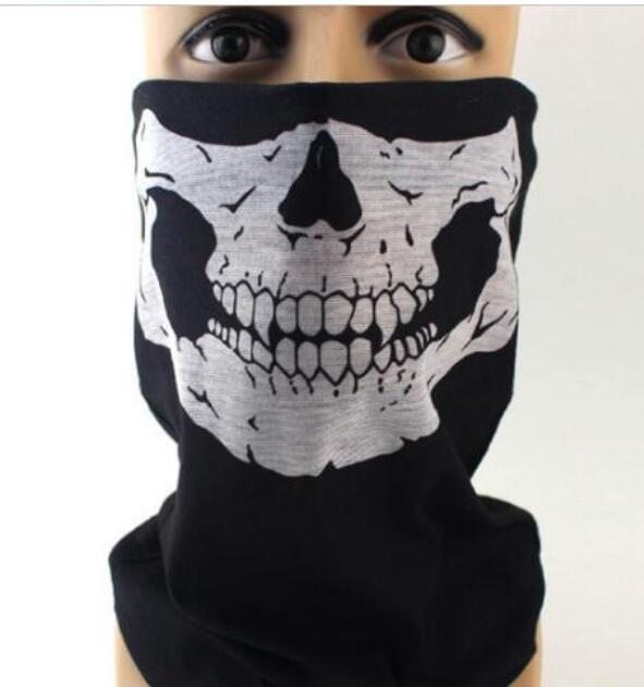 1 piece Bandana Bike Camouflage Tube Neck Face Mask Headscarf Sport Headband Pick Skull Print Bandanas in Party Masks from Home Garden