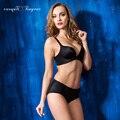 2017 Women Breathable Seamless Bra Push up Wireless Bra set Top Quality Women Bra Panties Two Piece Set