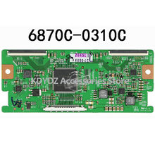 free shipping Good test T-CON board for 6870C-0310C 6870C-0310B 6870C-0310A screen LC420WUN-SCA1 LC470WUN(China)