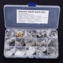 Multiple sizes Scissors Screws Parts Scissor repair Kit including Srcrews Bumbers Washers Salon Scissor Parts accessories