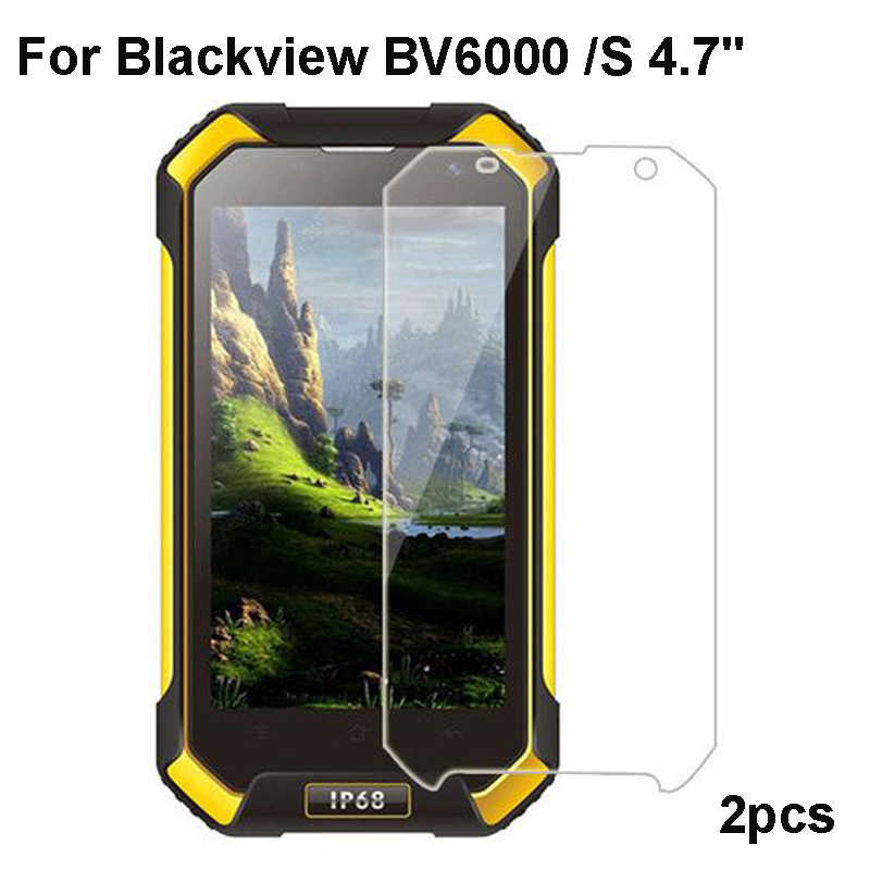 Blackview BV6000 Tempered Glass 100% Premium Screen Protector Film For Blackview BV6000S BV 6000 A5 A8 phone 2PCS