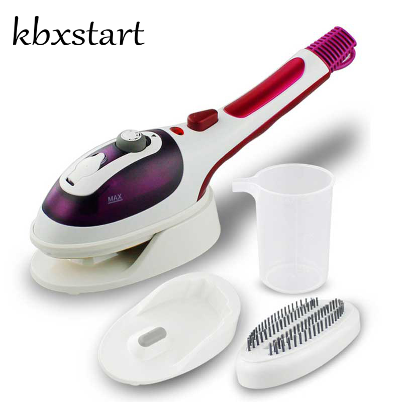 где купить Mini Portable Handheld Steam Iron For Clothes Handheld Garment Steamer Vertical Portable Travel Steam Brush Household Appliance дешево