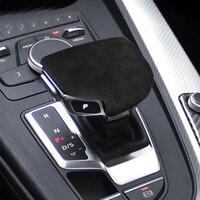 Car Gear Shift Knob Head Cover Cap Fit for Audi A4 S4 for RS4 B9 A5 S5 for RS5 Q5 SQ5 Q7 SQ7 Automatic Transmission