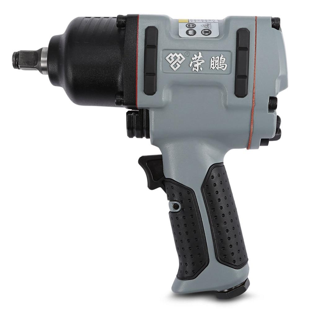 Air Impact Wrench Pneumatic Socket Set Compact Gun Ergonomic Handle Anti-Freeze Adjustable Power Regulator thermal printer free 1 printer paper for contec multi parameter patient monitor