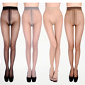 New Thigh-Highs Sexy Transparent T File Pantyhose Seamless Stockings Medias Pantyhose For Woman