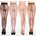 Nova Coxa-Highs Sexy Transparente T Arquivo Meia-calça Meias Sem Costura Meia-calça de Mídias Para A Mulher