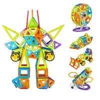 228 STÜCKE Großen Größe DIY Magnetische Bausteine Magische Magnet Ziehen Magnetischen Bausteine Montiert Geschenke für Kinder