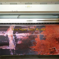The Last Of Us Rust Vinyl Wrap Film Sticker Bubble Free Car Styling Size:1.50*30m/Roll