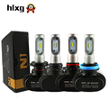 2Pcs H7 LED H1 H11 H8 H9 CSP Chip Auto Car Headlight Bulbs 50W 8000LM Single Beam Automobiles Xenon Replacement Lamp 6000K 12V