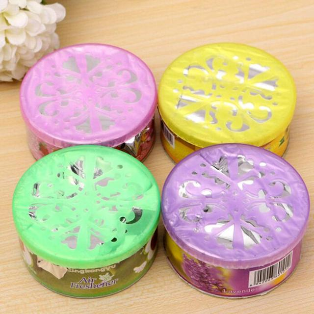 1Pc Solid Indoor Car Home Solid Deodorizing Scent Air Freshener Fragrance For Homes 4 various flavors Car Auto Decor