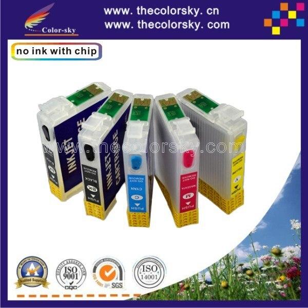 RCE691-691-694) 4 комплекты Заправка катриджа для струйного принтера чернильный картридж для принтера Epson 69 CX5000 CX6000 CX7000F CX7400 CX8400 CX9400FAX K/C/M/Y